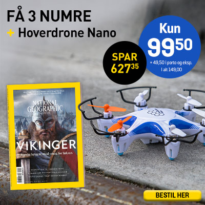 National Geographic Danmark + Hover Drone Nano.
